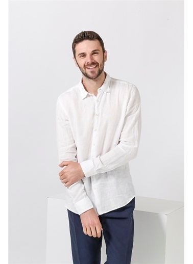 Sseinse Gömlek Beyaz